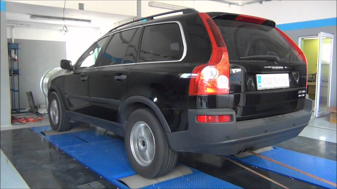 css performance tuning volvo xc90 2 4d 163hp youtube. Black Bedroom Furniture Sets. Home Design Ideas