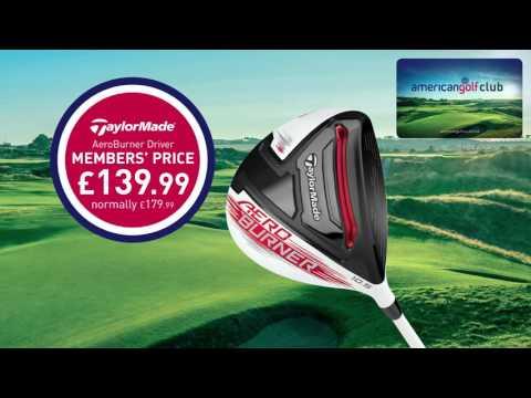 American Golf April Members Deals