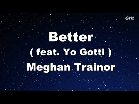 Better - Meghan Trainor Karaoke 【No Guide Melody】 Instrumental
