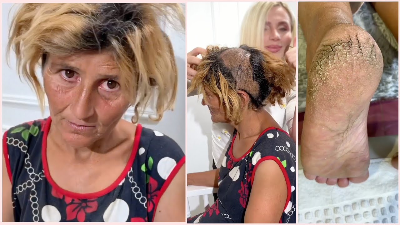 Poor Woman Receives Unexpected Gift ❤️ Most Amazing Makeup Transformations