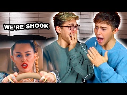 MILEY CYRUS'S BIGGEST FANS REACT TO NOTHING BREAKS LIKE A HEART