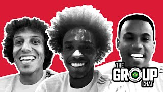 🇧🇷 SURPRISE! Gabriel Magalhaes joins The Arsenal! | The Group Chat with David Luiz & Willian