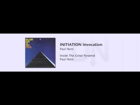 Paul Horn - Inside The Great Pyramid - 01 - INITIATION Invocation mp3