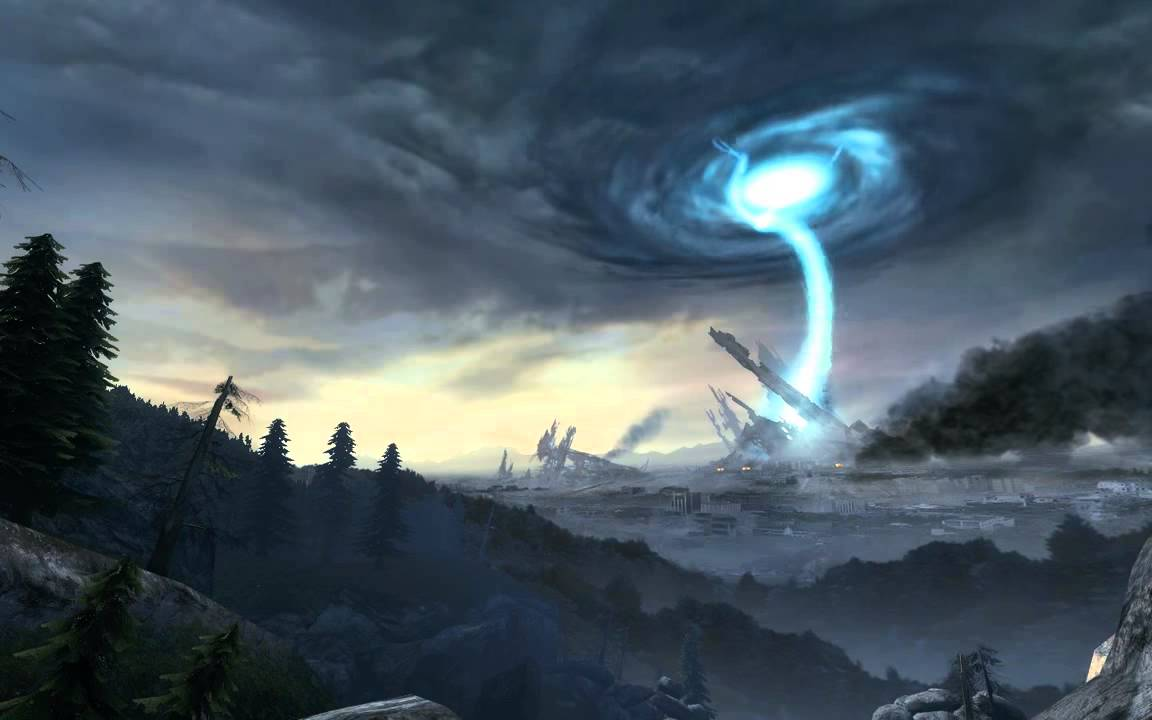 Dreamscene Half Life 2 Episode Two Destroyed Citadel Landscape