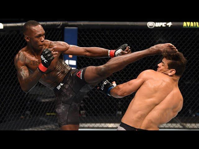 Veja o nocaute de Israel Adesanya | UFC 253