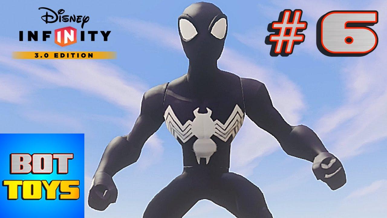 Hombre Araa Negro en Espaol 6 Spiderman El Hroe de Dibujos