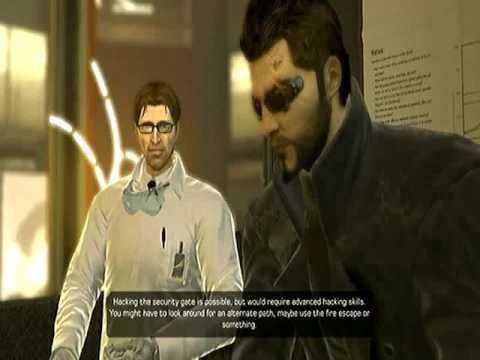 Deus Ex Human Revolution Director's Cut Part 8 - Back at Sarif Industries |