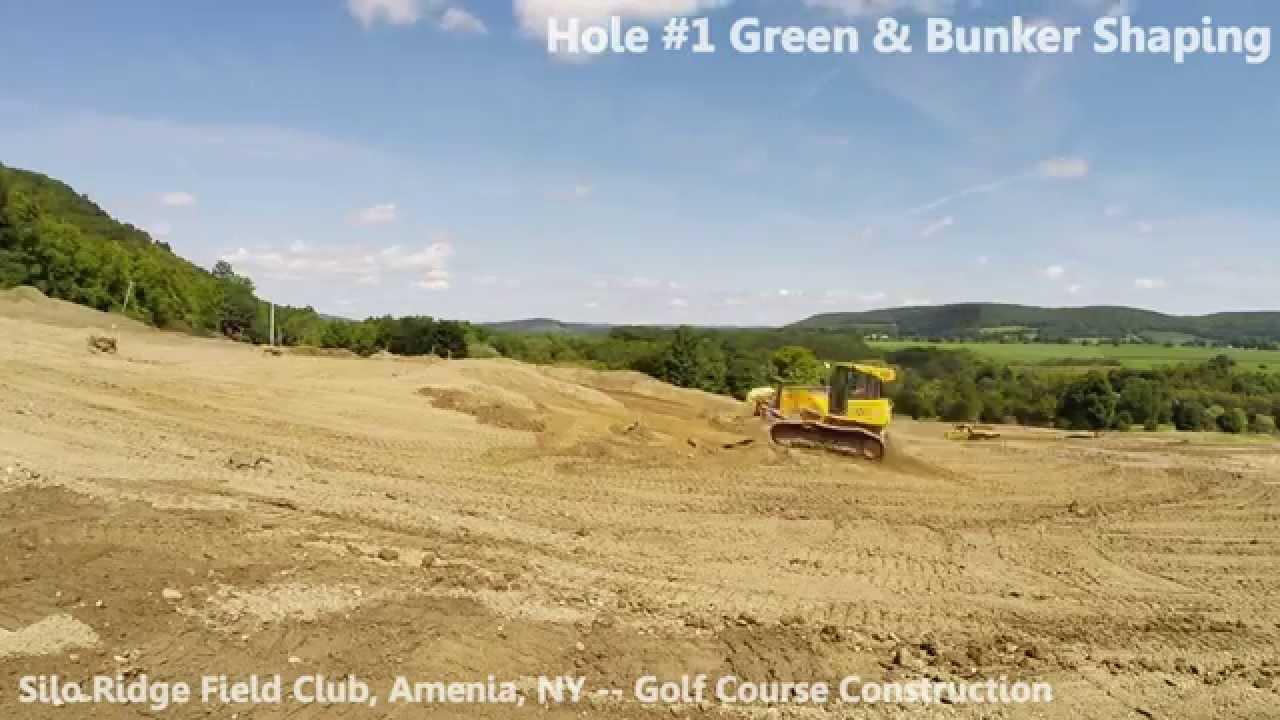 Gopro Time Lapse Silo Ridge Field Club Golf Course Construction