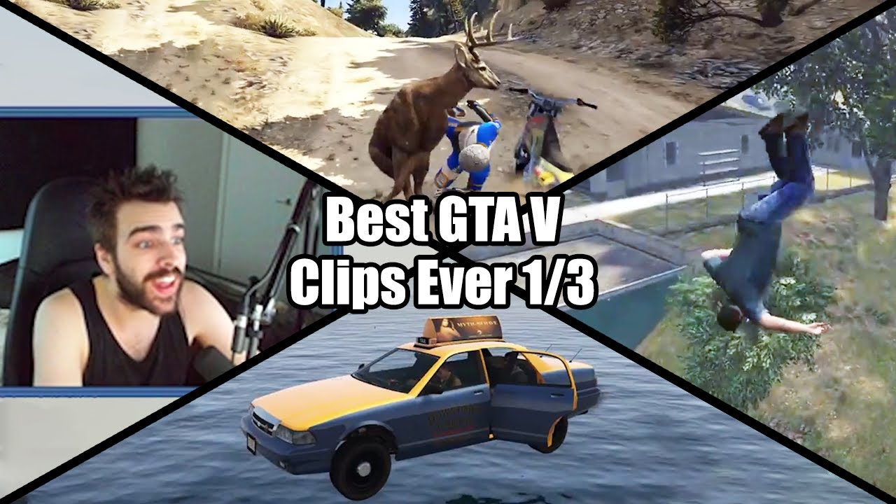 The Best Glitches, Fails and Luck - GTA Speedrun Highlights #50 (1/2)