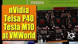nVidia Grid, Tesla P40, M10 GPU over CPU  Performance