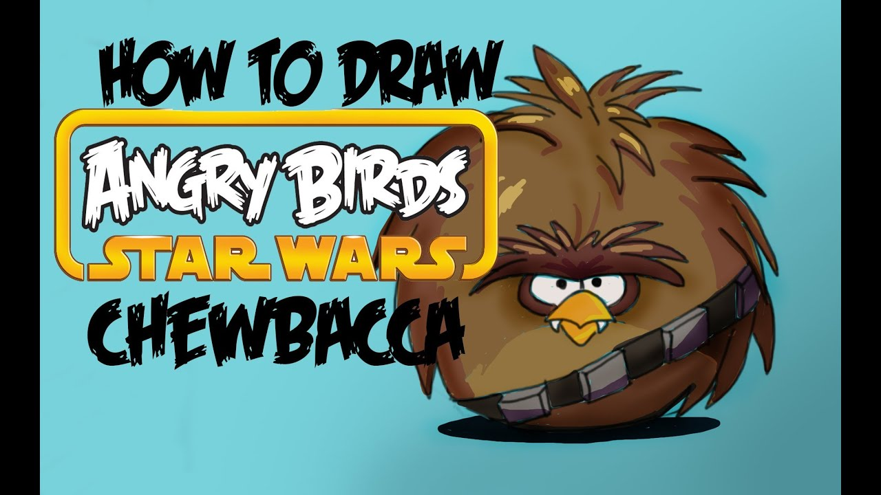 """New Official 6/"""" Chewbacca Bird ANGRY BIRD de Angry Birds Star Wars Collection"""