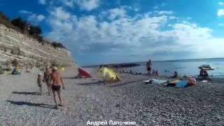 Дивноморское. Пляж Факел. Микрорайон и море у Факела. Цены на Жильё. Отдых на Чёрном море 3ч(Дивноморское – обзор всех пляжей. Условия отдыха. Цены на проживание в частном секторе и гостиницах. Где..., 2016-09-15T08:40:37.000Z)