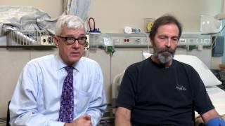 Proteus Syndrome Treatment - Leslie Biesecker with patient Jerry DeVries
