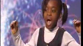 Natalie Okri Sings No One by Alicia Keys Britains Got Talent 2009