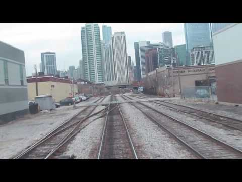 METRA Milwaukee District Racing - Western Ave to Union Station