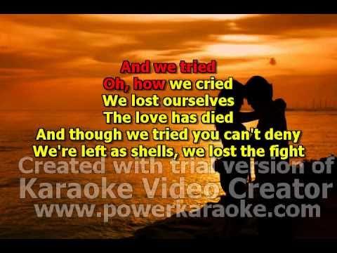 15-Christina_Aguilera-You Lost Me.-karaoke