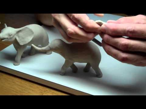 Learn Sculpting - Lesson 3, Part 1: Sculpt a Baby Elephant | Doovi