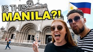 We NEVER Expected This In MANILA?! Intramuros and Rizal Park REACTION