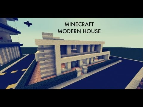 Minecraft modern house 1 road to a city episode 9 youtube for Modern house ep 9