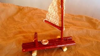 How To Make A Cute Driftwood Sail Boat - Diy Crafts Tutorial - Guidecentral