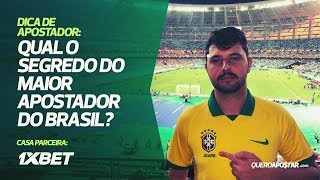 Qual o segredo do maior apostador do Brasil? YouTube Videos
