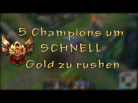 TOP 5 Champions um SCHNELL Gold Elo zu rushen
