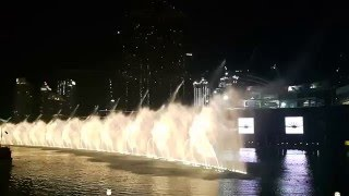 Burj Khalifa Fountain Dubai mall Hindi Song