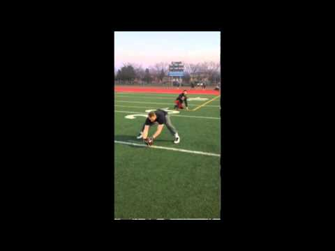 Michael Harrington 2014 CFL Draft Prospect Long and Short Snap Video