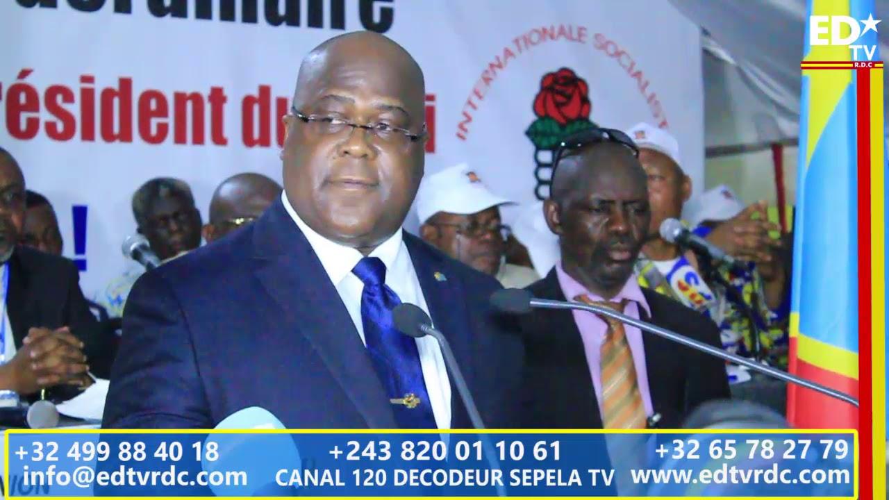 UDPS CONGRES  EXTRAORDINAIRE: LE DISCOURS PROGRAMME  DU NOUVEAU PRÉSIDENT