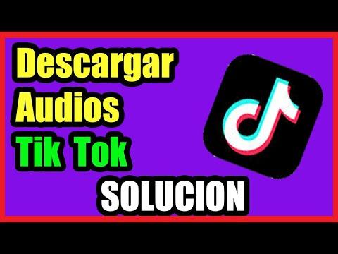 Como Descargar Audios de TikTok Rápido I Solución 2021