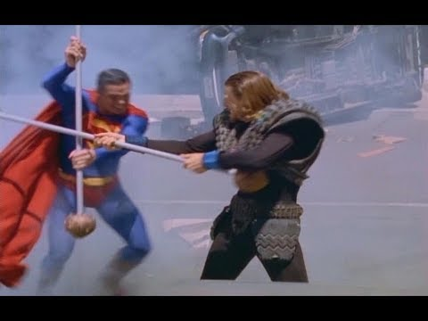 Superman fighting Lord Nor