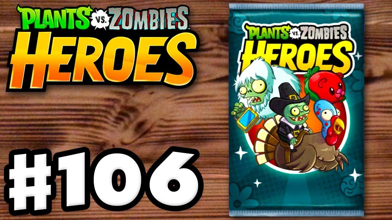 TURKEY RIDER! - Plants vs. Zombies: Heroes - Gameplay Walkthrough ...
