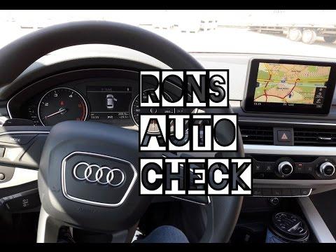 Audi A4 TDI Interieur Test und Fazit der Verarbeitung Vergleich zu einem VW Golf 7