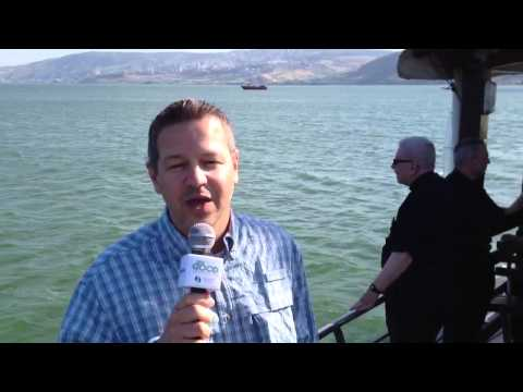 Sailing on the Sea of Galilee with Fr. Michael Medas