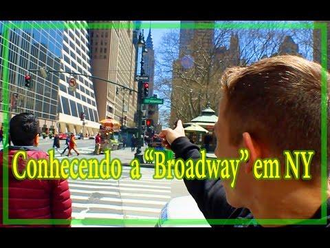 VLOG - Times Square - Manhattan - Broadway