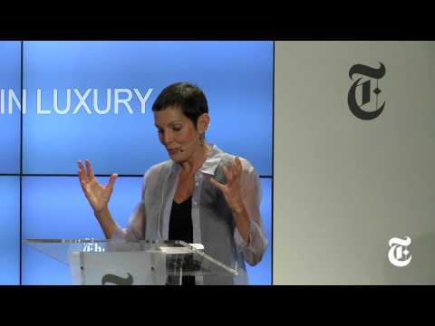 New York Times | International Luxury Conference | 2016 | Day 1 | Opening Keynote - Maureen Chiquet