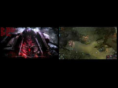 Warhammer 40k Dawn of War 2 Retribution 1080p I7-6920HQ 980 SLI vs I9-9900K RTX 2080 PC |