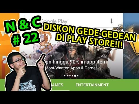 PLAY STORE DISKON SAMPE 90%! - Ngobrol & Comment Part 22! (Mafia 3 is Out!)