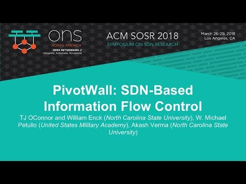 PivotWall: SDN-Based Information Flow Control