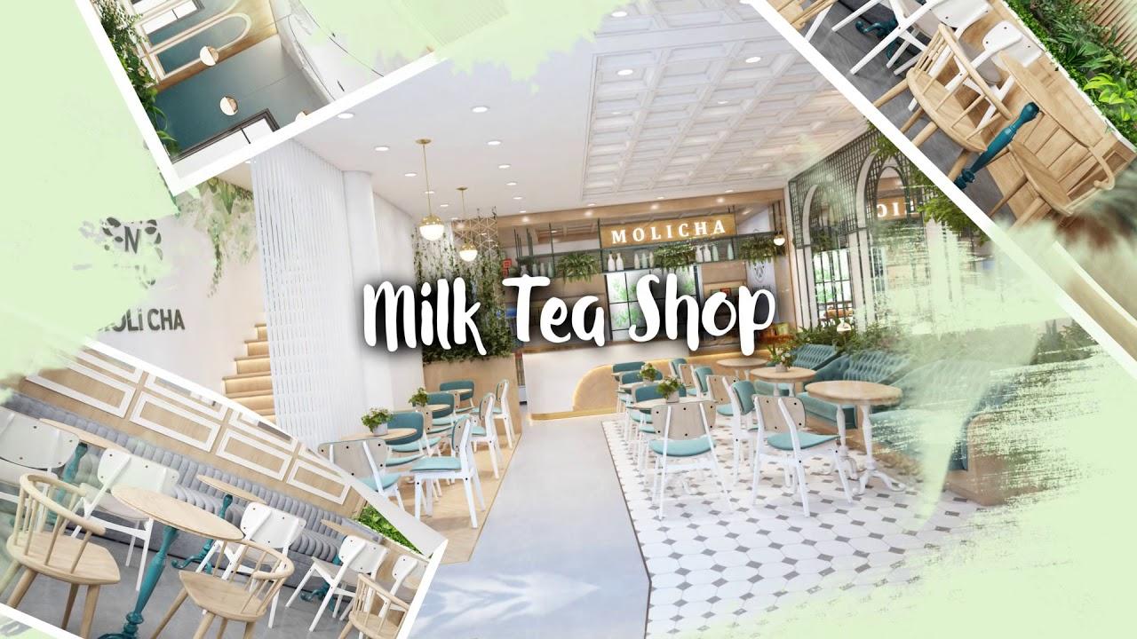 TOP 3 MẪU NHÀ HÀNG – CAFE – TRÀ SỮA TƯƠI MÁT