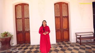 The Doors of Cluny Embroidery Centre in Pondicherry - #DoorsOfIndia