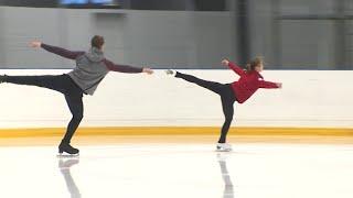 Чемпионы Европы по фигурному катанию Козловский и Бойкова готовятся к ЧМ-2020