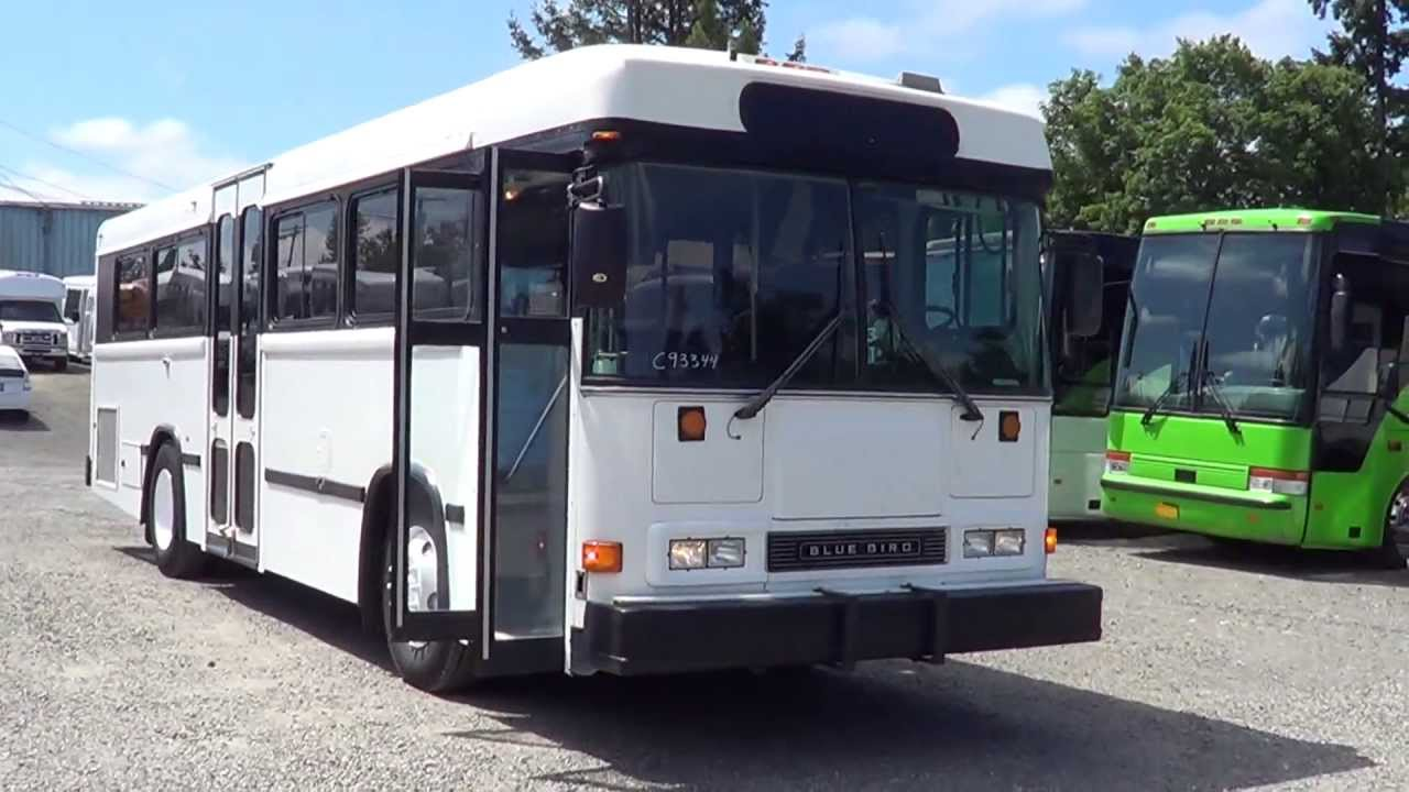 Northwest Bus Sales - 2000 Blue Bird All American RE 32 Passenger Transit  Bus For Sale - B93344