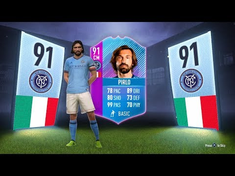 91 RATED ANDREA PIRLO END OF AN ERA SBC! - FIFA 18 Ultimate Team