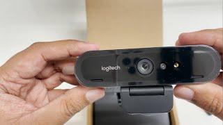 Logitech BRIO 4K Webcam Unboxi…