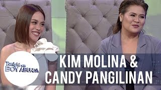 Kim Molina and Candy Pangilinan's friendship | TWBA