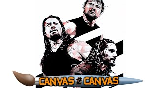 Celebrating the reunion of The Shield: WWE Canvas 2 Canvas