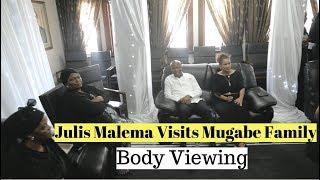 Julius Malema Visits Mugabe Family