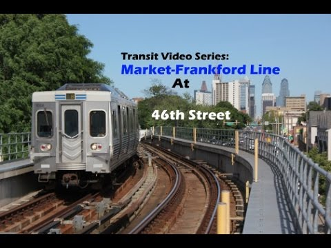 TVS-SEPTA Subways: 46th Street Market-Frankford El Station At Peak Hour