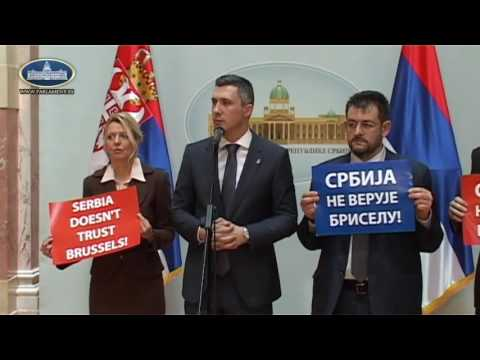 Бошко Обрадовић поручио Могеринијевој: Србија вам више ништа не верује